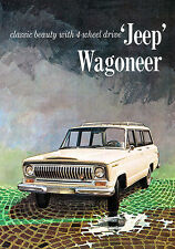 1966 Jeep Wagoneer - Promotional Advertising Poster