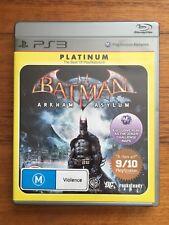 Batman Arkham Asylum (PS3, Playstation 3)