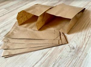 bis 1000 Stück Papier Flachbeutel, Faltenbeutel, Geschenktüten, Beutel, Taschen.