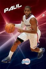 Los Angeles LA Clippers Chris Paul CP3 NBA Basketball Official Poster, 22x34
