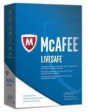 McAfee LiveSafe 2017, 1 User - beliebig viele Geräte - 1 Jahr, Download