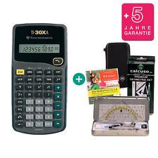 TI 30 XA Taschenrechner + Schutztasche GeoSet Lern-CD Garantie