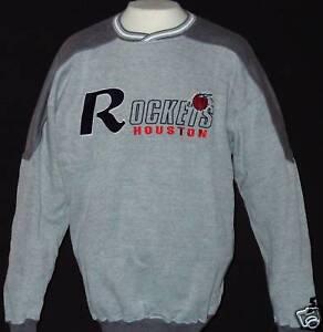 HOUSTON ROCKETS NBA Mid-Weight Sweatshirt Mens Lrg. $48