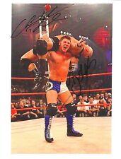AJ Styles vs Christopher Daniels signed 8x10 w/COA