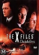 The X Files - Deadalive DVD (PAL, 2001) FREE POST