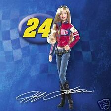 BARBIE PINK LABEL NASCAR JEFF GORDON DOLL #24 NRFB