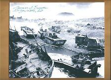 Lt Gen. Lawrence Snowden Iwo Jima USMC Commander Autographed 8x10 Picture