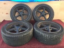 172# BMW E60 550I 545I 530I AFTER MARKET WHEEL RIMS RIM SET BLACK ASSEMBLY 18""