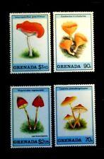SELLOS SETAS GRENADA 1989 1825/28 4v.