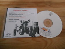CD pop powersolo-Juanito (1 chanson) promo homo Frog