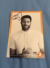 OJ BORG (BBC RADIO 2) SIGNED CAST CARD