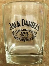 Vintage Jack Daniels Whisky Glass Tumbler - FREEPOST