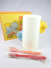 Avon bath buddies tweet house toothbrush holder & 2 toothbrush for children New