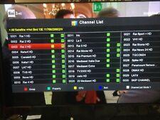 More details for evo eztv (amiko ) fta hd ideal for tivusat freesat rik sat german spanish tv etc