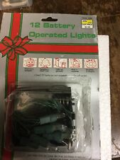 12 Battery Operated Lights