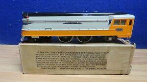250E LIONEL PREWAR O HIAWATHA ENGINE IN BOX 602239