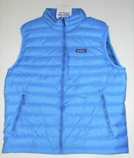 NWT MEN'S L PATAGONIA DOWN SWEATER VEST ELECTRON BLUE SRP $179