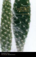 Poems of Hiromi Ito, Toshiko Hirata & Takako Arai