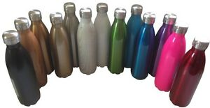 750ml Oasis D.Line stainless steel thermos insulated drink bottle - 38 colours