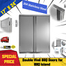 BBQ Access Outdoor Kitchen for BBQ ISLAND-Stainless Steel Double Wall Cabinet