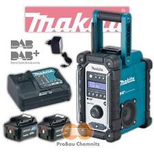 Makita Akku Baustellenradio DMR110 + 2 Akkus BL1040B + Ladegerät DC10SA  NEU DAB