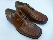 Stacy Adams Corrado 23274-03 Brown Cognac Leather Oxford Dress Shoe Mens Sz 7 M