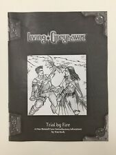 TSR Dungeons & Dragons D&D RPG LIVING Greyhawk TRIAL DAL FUOCO INTRO Avventura