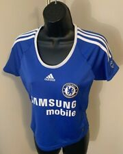Adidas Chelsea Football Club Women's Climalite Athletic Soccer Jersey Size S