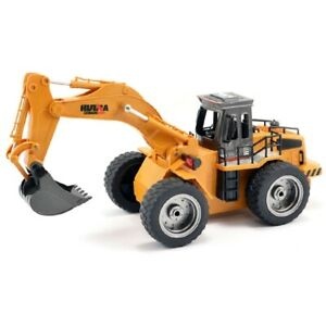 Huina 2.4G 6Ch Rc Excavator W/Die Cast Bucket CY1530