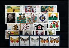 BRD  Bund  aus  Jahrgang  1992  Marken  postfrisch  Katalogwert  40€     Lot216