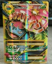 Mega M Venusaur EX 100/108 Full Art Ultra Rare Holo Evolutions Pokemon Card