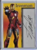 Ironman Super Heroes Creator Stan Lee Facsimile Auto Card