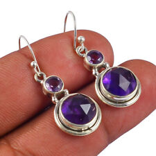 "Silver Handmade Earring Jewelry 1.37""Ae4770 New listing