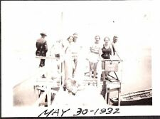 VINTAGE PHOTOGRAPH 1927-34 NUDE MAN MISSION BEACH SAN DIEGO CALIFORNIA OLD PHOTO
