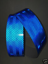 3M Blue Engineer Grade Prismatic Diamond Adhesive Reflective Tape 50mm x 2m Roll