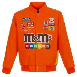 2021 Authentic Kyle Busch JH Design M&M's Snap  Uniform Cotton Jacket