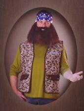 Duck Dynasty Willie Robertson Adult Mens Halloween Costume Bandana Wig Beard NEW