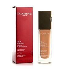 CLARINS Foundation 116.5 Coffee SKIN illusion Mineral Plant Extracts NIB