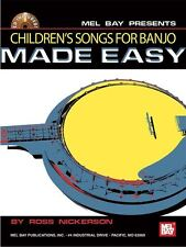 Les enfants de chansons pour banjo made easy