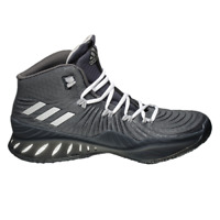 adidas Crazy Explosive 2017 Men's Dark Grey Silver Basketball Shoes Sneakers