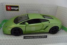 BURAGO 1:32 DIE-CAST AUTO LAMBORGHINI GALLARDO LP 560-4 VERDE ART 18-43100