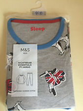 Boys Pyjamas Marks & Spencer Size 13-14 Years  Brand New