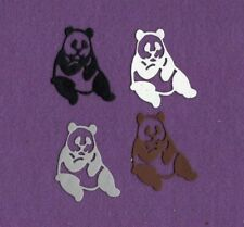 PANDA Bear # 4 Zoo die cuts scrapbook cards