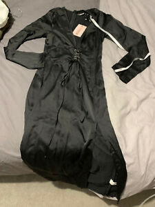 New With Tags Dress Silky Feel Split Front