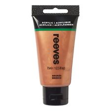 Reeves Acrylic Paint - 75ml Bronze