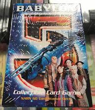 Babylon 5 CCG Starter Deck Narn 1997 New unopened OOP