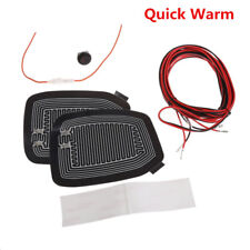 Universal Quick Warm 12V Car Side Mirror Glass Heater Heated Defogger Pad Mat