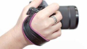 Camera SpiderLight Hand Strap - Lilac Trim