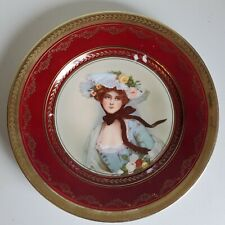Thomas Collector's Plate -Beautiful Lady In Blue Tatler #517 1
