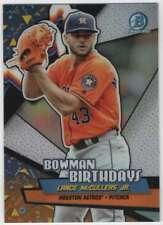 2018 Bowman Baseball Bowman Birthdays #BB-LM Lance McCullers Jr. Astros